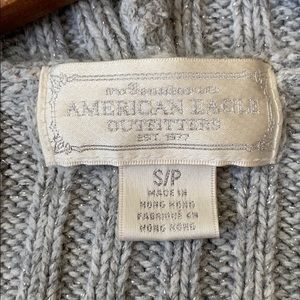 American Eagle Outfitters Sweaters - American Eagle Hooded Cropped Sweater